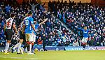02.02.2019: Rangers v St Mirren: James Tavernier's free-kick is handballed on the line for the third penalty