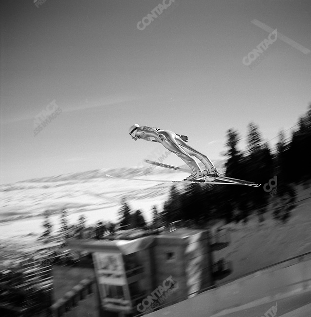 Ski Jumping, Winter Olympics, Park City Utah, USA.  February 2002