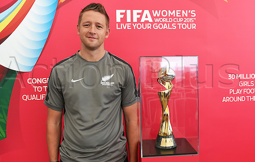 11.02.2015. Football Ferns coach Tony Readings. FIFA Women's World Cup 2015. Live Your Goals Tour. Auckland. New Zealand. Wednesday 11 February 2015.