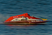 "Mike Weber, E-81 ""Southern Comfort"" (5 Litre class hydroplane)"