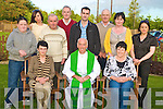 Fr Donie O'Connor, Ballaugh, Killarney, and Uganda, Africa, pictured with Margaret Tynan, Mary Keogh, Michael Dennehy, Tina Tynan, Christy O'Connor, Dermot Keogh, John Keogh, Jim McCarthy, Noreen Dennehy and Marion O'Sullivan, at the mass in Darby O'Gills on Thursday night..........