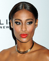 NEW YORK CITY, NY, USA - SEPTEMBER 05: Skylar Diggins arrives at the 2nd Annual Fashion Media Awards held at the Park Hyatt on September 5, 2014 in New York City, New York, United States. (Photo by Celebrity Monitor)