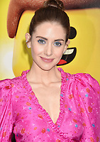 WESTWOOD, CA - FEBRUARY 02: Alison Brie attends the Premiere Of Warner Bros. Pictures' 'The Lego Movie 2: The Second Part' at Regency Village Theatre on February 2, 2019 in Westwood, California.<br /> CAP/ROT/TM<br /> &copy;TM/ROT/Capital Pictures