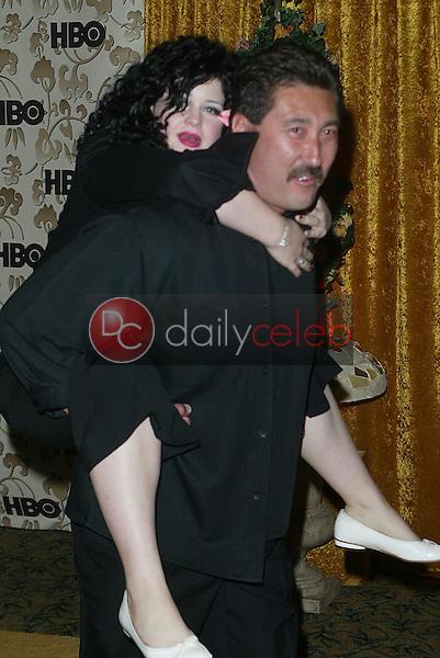 Kelly Osbourne and bodyguard