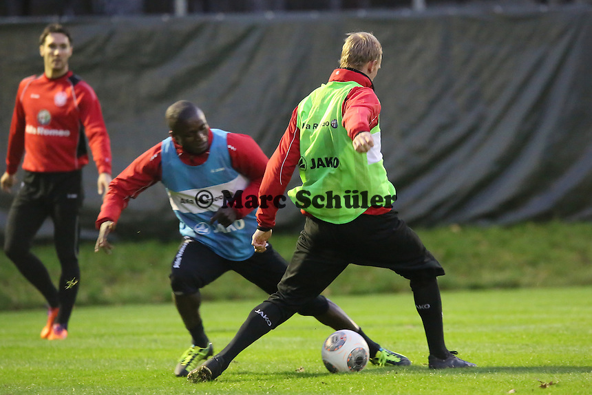 Jan Rosenthal (Eintracht) gegen Constant Djakpa