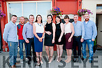 30th Birthday: Catherine Foley, Ballylongford, centre celebrating her 30th birthday with family at Eabha Joan's Restaurant, Listowel on Saturday night last. L-R: Kenneth Foley, Eamonn Leahy, Stephen, Catherine, Michelle, Ellen, Michael & Liam Foley.