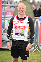 Judge Rinder<br /> at the start of the 2016 London Marathon, Blackheath, Greenwich London<br /> <br /> <br /> &copy;Ash Knotek  D3108 24/04/2016