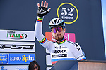 World Champion Peter Sagan (SVK) Bora-Hansgrohe at sign on before the start of Stage 3 of the 2017 Tirreno Adriatico running 204km from Monterotondo Marittimo to Montalto di Castro, Italy. 10th March 2017.<br /> Picture: La Presse/Gian Mattia D'Alberto | Cyclefile<br /> <br /> <br /> All photos usage must carry mandatory copyright credit (&copy; Cyclefile | La Presse)