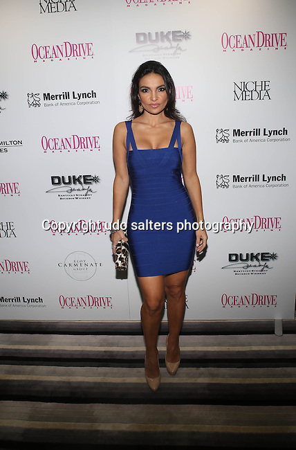 "Niche Media's OCEAN DRIVE MAGAZINE AND DUKE SPIRITS CELEBRATE OCEAN DRIVE'S DECEMBER ISSUE FEATURING COVER STAR KRYSTEN RITTER EVENT PREVIEWS HOLLYWOOD EXPOSED: ""AMERICAN ICONS"" HELD AT THE W SOUTH BEACH"