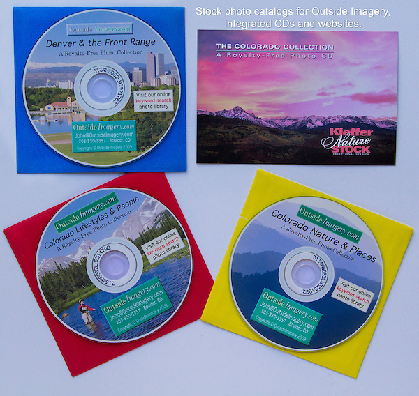 John marketed his photography on the web and on CD-ROM in early 2000. Stock photo CD catalogs with integrated websites. Designed by John and his wife.