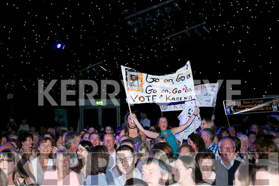 Supporters at the Austin Stacks Strictly Come Dancing on Saturday night