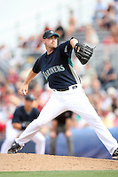 March 8, 2009: Sean, White (46) of the Seattle Mariners at Peoria Sports Complex in Peoria, AZ.  Photo by: Chris Proctor/Four Seam Images