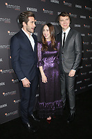 LOS ANGELES, CA - NOVEMBER 4: Jake Gyllenhaal, Zoe Kazan and Paul Dano at the 10th Hamilton Behind the Camera Awards hosted by Los Angeles Confidential at Exchange LA in Los Angeles, California on November 4, 2018. <br /> CAP/MPI/FS<br /> &copy;FS/MPI/Capital Pictures