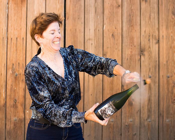 Winemaker Emily Hunt in Carmel Valley, Calif.