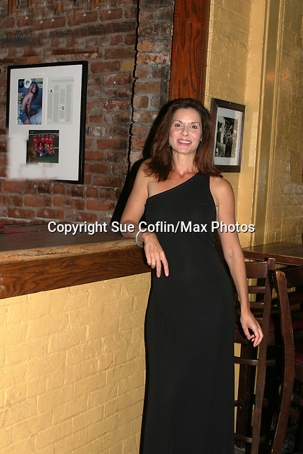 "General Hospital Florencia Lozano (OLTL) stars in ""Red Dog Howls"" as it opens on September 24, 2012 at New York Theatre Workshop in New York City, New York with the after party at Phebe's.  (Photo by Sue Coflin/Max Photos)"