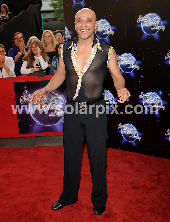 **ALL ROUND PICTURES FROM SOLARPIX.COM**.**WORLDWIDE SYNDICATION RIGHTS**.Celebrities and dancers walking the red carpet at the Strictly Come Dancing 2010 launch event.  Held at BBC Television Centre, Wood Lane, London, UK. 8 September 2010..This pic: Goldie..JOB REF: 12067 SSD     DATE: 08_09_2010.**MUST CREDIT SOLARPIX.COM OR DOUBLE FEE WILL BE CHARGED**.**MUST NOTIFY SOLARPIX OF ONLINE USAGE**.**CALL US ON: +34 952 811 768 or LOW RATE FROM UK 0844 617 7637**