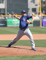 Ariel Jurado - Texas Rangers 2020 spring training (Bill Mitchell)
