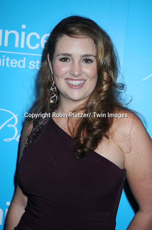 Gillian Hearst Simonds  attending The 7th Annual Unicef Snowflake Ball on November 30, 2010 at Cipriani 42nd .Street.