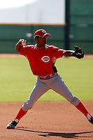 Cristobal Rodriguez - Cincinnati Reds 2009 Instructional League. .Photo by:  Bill Mitchell/Four Seam Images..