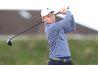 Angus Flanagan (St George's Hill) on the 5th tee during Round 1 of the The Amateur Championship 2019 at The Island Golf Club, Co. Dublin on Monday 17th June 2019.<br /> Picture:  Thos Caffrey / Golffile<br /> <br /> All photo usage must carry mandatory copyright credit (© Golffile | Thos Caffrey)