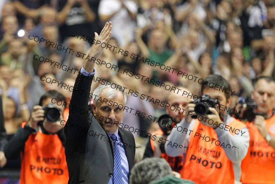 Kosarka Euroleague season 2013-2014<br /> Euroleague<br /> Partizan v Fenebahce Ulker<br /> Head coach Zeljko Obradovic<br /> Beograd, 08.11.2013.<br /> foto: Srdjan Stevanovic/Starsportphoto &copy;