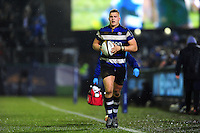 Jack Walker of Bath Rugby looks on. Anglo-Welsh Cup match, between Bath Rugby and Gloucester Rugby on January 27, 2017 at the Recreation Ground in Bath, England. Photo by: Patrick Khachfe / Onside Images