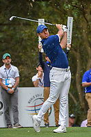 Rory McIlroy (NIR) watches his tee shot on 16 during round 3 of the World Golf Championships, Mexico, Club De Golf Chapultepec, Mexico City, Mexico. 2/23/2019.<br /> Picture: Golffile | Ken Murray<br /> <br /> <br /> All photo usage must carry mandatory copyright credit (© Golffile | Ken Murray)