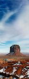 USA; Arizona; Monument Valley, Navajo Tribal Park, Merrick Butte