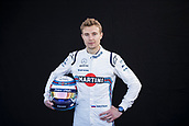 22nd March 2018, Melbourne Grand Prix Circuit, Melbourne, Australia; Melbourne Formula One Grand Prix, Arrivals and Press Conference; The number 35 Williams Martini driver Sergey Sirotkin