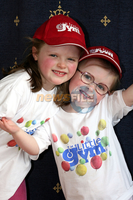 Sonia and Aoife Leonard who attend The Little Gym....Photo NEWSFILE/Jenny Matthews.(Photo credit should read Jenny Matthews/NEWSFILE)....This Picture has been sent you under the condtions enclosed by:.Newsfile Ltd..The Studio,.Millmount Abbey,.Drogheda,.Co Meath..Ireland..Tel: +353(0)41-9871240.Fax: +353(0)41-9871260.GSM: +353(0)86-2500958.email: pictures@newsfile.ie.www.newsfile.ie.FTP: 193.120.102.198.