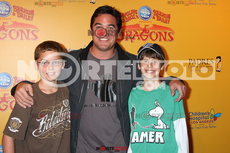 Dean Cain at the opening night of Ringling Bros. &amp; Barnum &amp; Bailey's 'Dragons' held at Staples Center on July 12, 2012 in Los Angeles, California. &copy;&nbsp;mpi27/MediaPunch Inc /*NORTEPHOTO*<br />