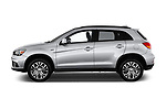 Car driver side profile view of a 2018 Mitsubishi Outlander Sport SEL 5 Door SUV