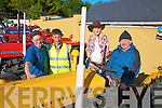 Kilflynn Vintage Rally: Pat Mangan, Ballymacelligott, Paddy Ashe , Inch, Helena Brennan, Kilflynn and Noel Fennell, Ballylongford enjoyin the sunshine before the start of the Vintage run on Saturday.