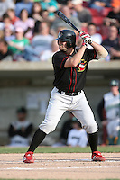 May 25, 2008: Quad Cities River Bandits Charlie Kingrey (21) at bat against the Kane County Cougars at Elfstrom Stadium in Geneva, IL. Photo by: Chris Proctor/Four Seam Images
