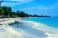 Nusa Tenggara, Lombok, Gili Trawangan. A great place for snorkeling just outside the beach on Gili Trawangan
