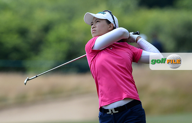 Ssu-Chia Cheng of Taipei during the Final Round of The ISPS Handa Ladies European Masters at The Buckinghamshire Golf Club, Denham, England. Picture: Golffile | Richard Martin-Roberts<br /> All photo usage must carry mandatory copyright credit (&copy; Golffile | Richard Martin- Roberts)