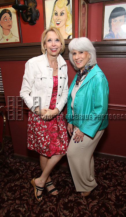 Julie Halston and Jamie deRoy attends the 7th Annual Off Broadway Alliance Awards at Sardi's on June 20, 2017 in New York City.