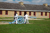 Canon in Parade Field, Fort Snelling Historic Site, Hennepin County, Minnesota