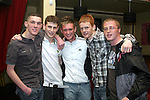 Daniel Darby, Ciaran Curran, Darren Moore, Danny Reilly and Jacob Gill in the Star and Crescent...Photo NEWSFILE/Jenny Matthews.(Photo credit should read Jenny Matthews/NEWSFILE)....This Picture has been sent you under the condtions enclosed by:.Newsfile Ltd..The Studio,.Millmount Abbey,.Drogheda,.Co Meath..Ireland..Tel: +353(0)41-9871240.Fax: +353(0)41-9871260.GSM: +353(0)86-2500958.email: pictures@newsfile.ie.www.newsfile.ie.FTP: 193.120.102.198.