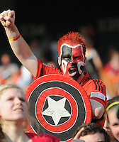 DC United fan.    AFC Ajax defeated DC United 2-1 during an International Friendly at RFK Stadium Sunday May 22, 2011.