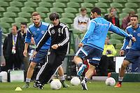 07.10.2015: Abschlusstraining Nationalmannschaft in Dublin