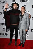 19 April 2017 - Los Angeles, California - Rodrigo Abed and Juan Carlos Olivas. Univision's 'El Chapo' Original Series Premiere Event held at The Landmark Theatre. Photo Credit: AdMedia
