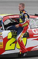May 4, 2007; Richmond, VA, USA; Nascar Nextel Cup Series driver Casey Mears (25) during qualifying for the Jim Stewart 400 at Richmond International Raceway. Mandatory Credit: Mark J. Rebilas