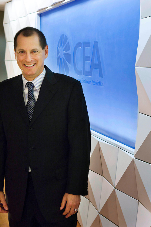 WASHINGTON, DC - Oct. 25: Consumer Electronics Association (CEA) President and CEO Gary Shapiro.(Photo by Scott J. Ferrell/Congressional Quarterly).