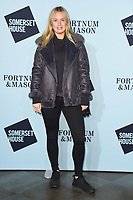 Marissa Montgomery<br /> arriving for the Skate at Somerset House 2017 opening, London<br /> <br /> <br /> ©Ash Knotek  D3351  14/11/2017