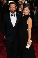 HOLLYWOOD, LOS ANGELES, CA, USA - MARCH 02: Jason Sudeikis, Olivia Wilde at the 86th Annual Academy Awards held at Dolby Theatre on March 2, 2014 in Hollywood, Los Angeles, California, United States. (Photo by Xavier Collin/Celebrity Monitor)