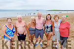 Margaret O'Connor, Stephen Christopher O'Callaghan, Joan, Michael and Patsy O'Connor, Alice Tiernan and Sally O'Callaghan from Tralee enjoying the beach in Fenit on Monday.