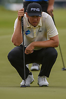 Seamus Power (IRL) looks over his birdie putt on 11 during round 3 of the AT&T Byron Nelson, Trinity Forest Golf Club, Dallas, Texas, USA. 5/11/2019.<br /> Picture: Golffile | Ken Murray<br /> <br /> <br /> All photo usage must carry mandatory copyright credit (© Golffile | Ken Murray)