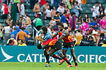 Papua New Guinea vs Uruguay during the HSBC Sevens Wold Series Qualifier Quarter Finals match as part of the Cathay Pacific / HSBC Hong Kong Sevens at the Hong Kong Stadium on 28 March 2015 in Hong Kong, China. Photo by Juan Manuel Serrano / Power Sport Images