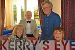 At the Gala dinner of the K.V.V.C.C.C. in the Waterville Lake Hotel on Saturday were front l-r Jill Vahey, Maura Allen, John Vahey & Jack Allen from Cork.